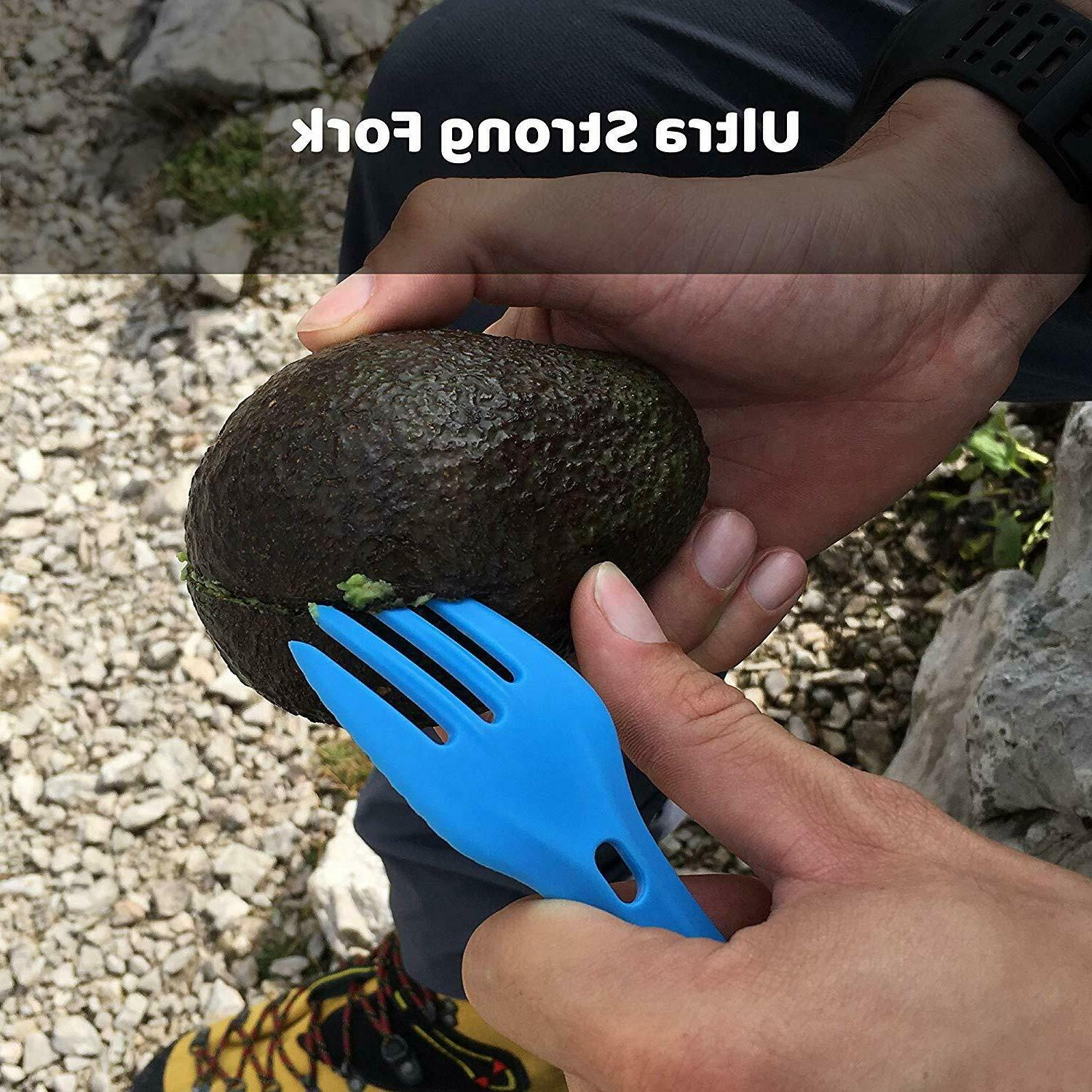 morsel Spork - and Backpacking Lunch Gear Accessory
