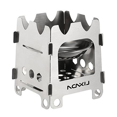 stainless steel camping stove ultralight