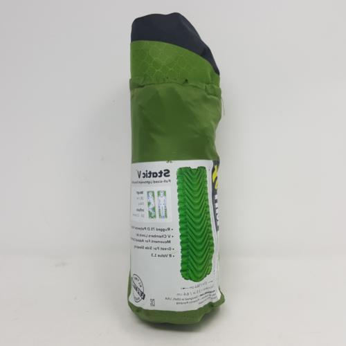 static v lightweight sleeping pad green char