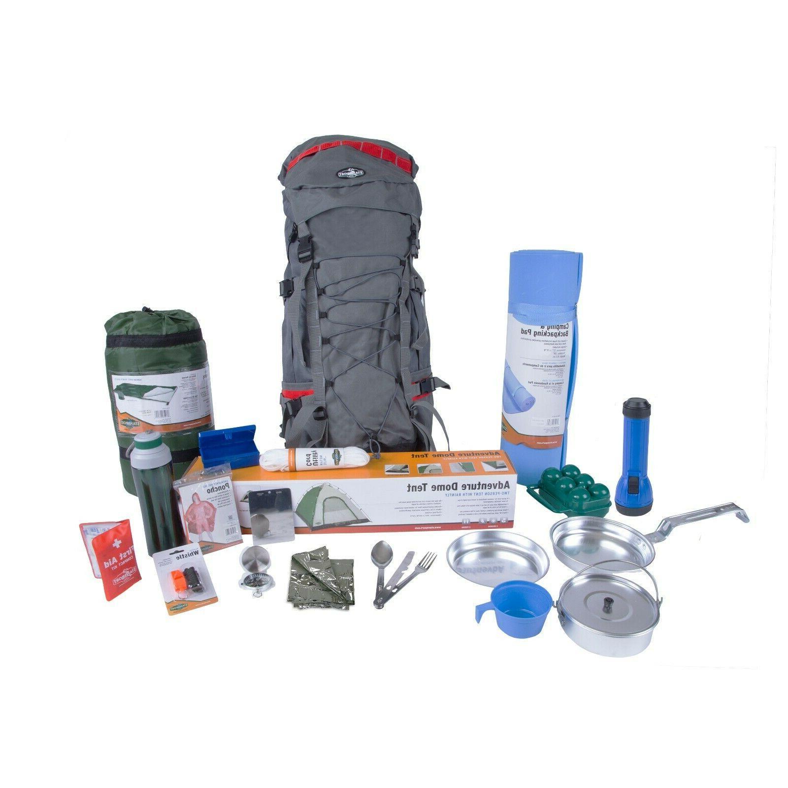 Custom Emergency Bug Out Bag Gear Backpack Survival Kit Camp