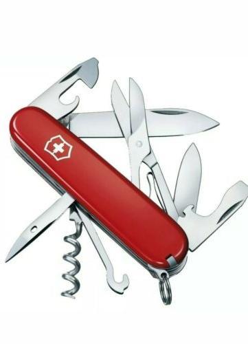 swiss army climber pocket knife