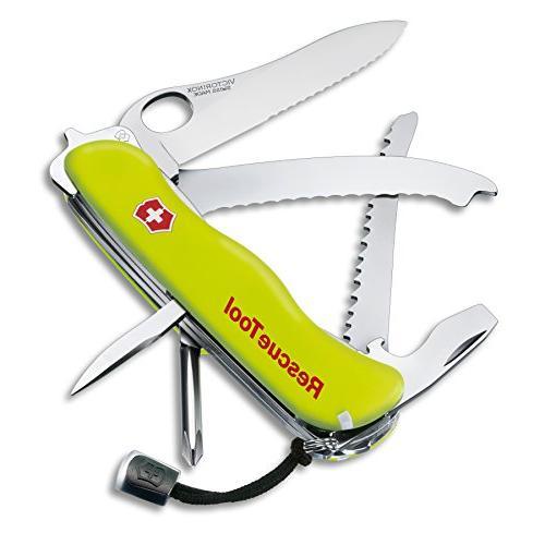 swiss army rescue pocket knife