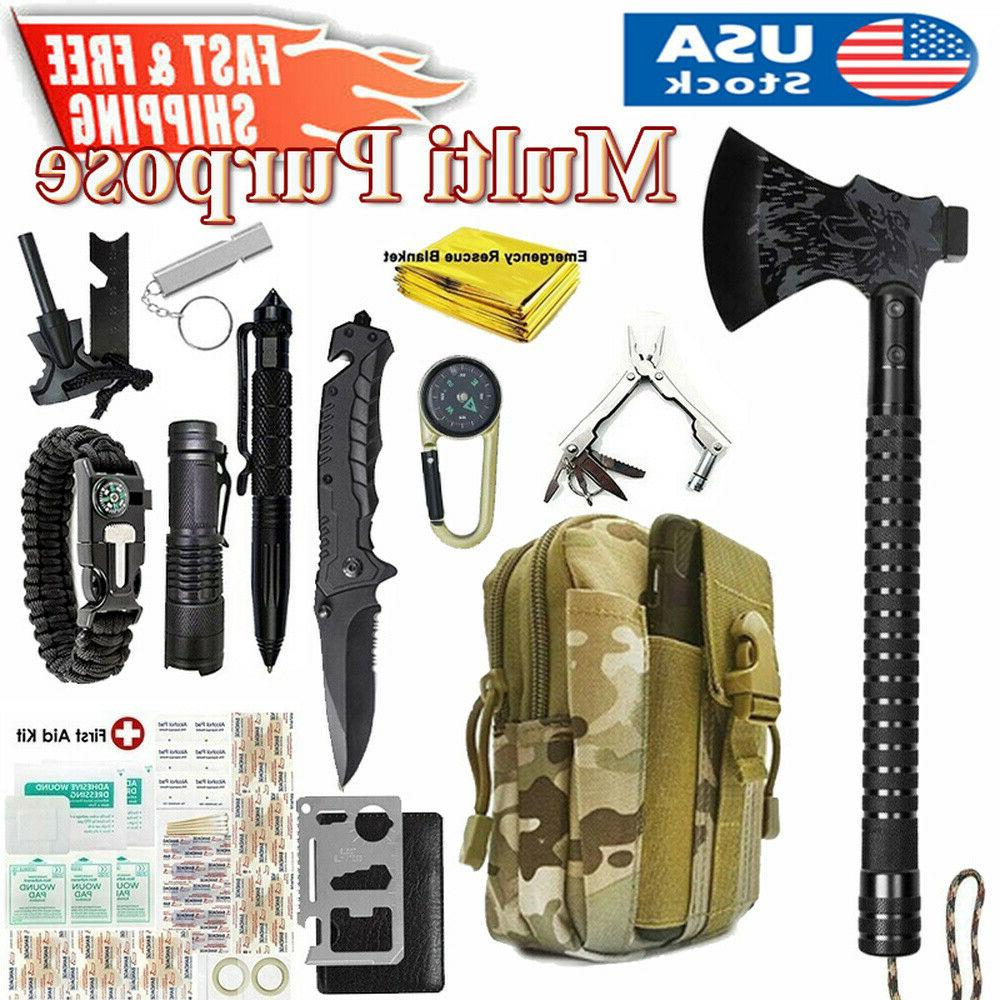 tactical survival axe first aid kit outdoor