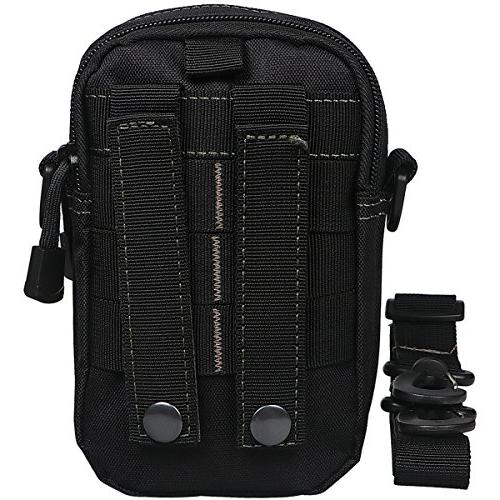 xhorizon SR Universal Multipurpose Capacity Tactical MOLLE Pouch EDC Gadget Smart Saddlebag for