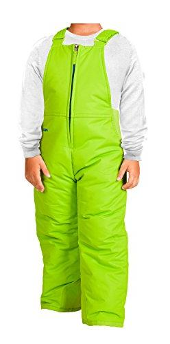 Arctix Infant/Toddler Insulated Snow Bib Overalls,Lime Green
