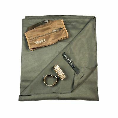 Mcnett Ultra-compact Microfiber Towel, Olive Drab Green, Ext
