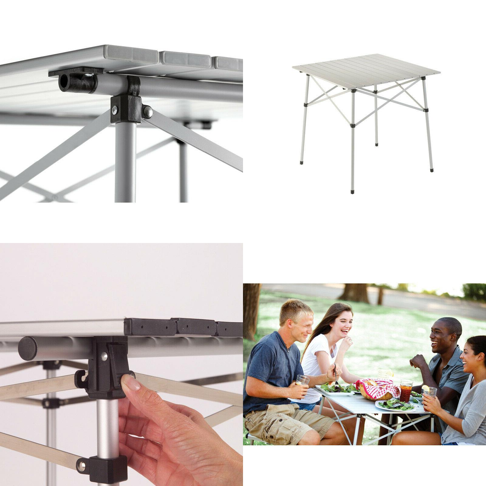 ultra compact outdoor folding camping portable table
