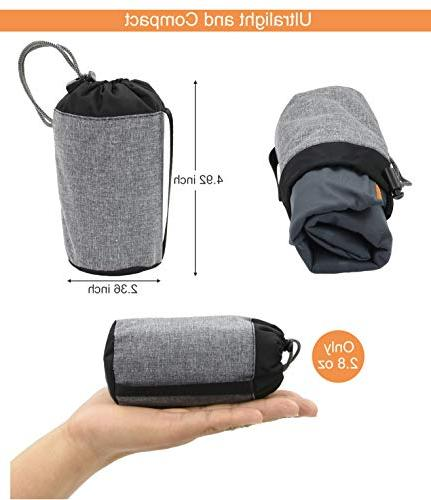 MARCHWAY Camping Portable Air for Outdoor Hiking, Backpacking Night Sleep and Car Airplane Lumbar Support