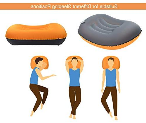 MARCHWAY Ultralight Compact Camping Pillow, Portable Travel for Outdoor Camp, Hiking, and