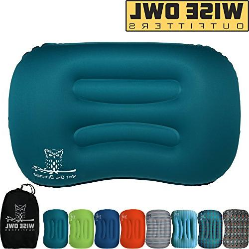 ultralight inflatable air camping pillow