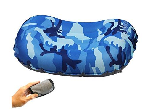 ultralight inflating camping pillows