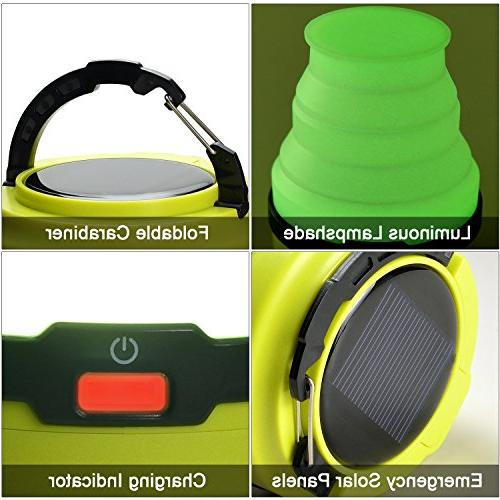 Odoland Lantern, 3 Modes LED Camping Light, Tent Light Camping for Hiking Emergencies Outages