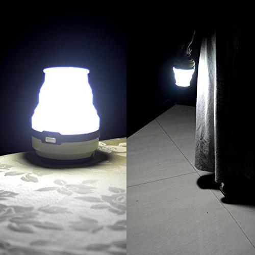 Odoland Solar Lantern, LED Camping Light, Ultra LED Tent Light - Camping Hiking Emergencies