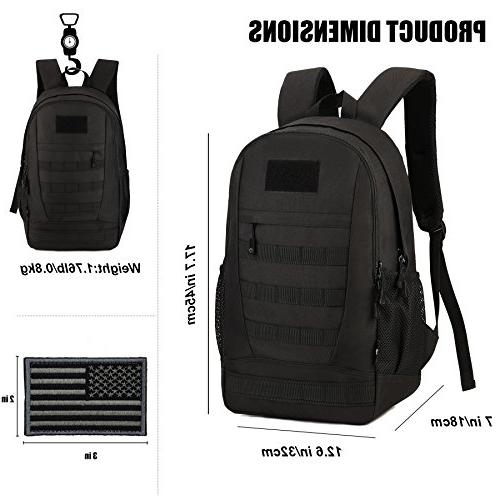 ArcEnCiel Waterproof Pack Student for Travel with Cover Included