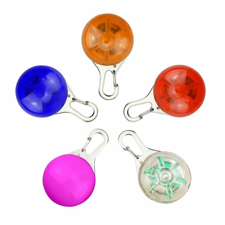 5Pack Waterproof SpotLit Dog/Cat Collar Light,Safety LED Lig