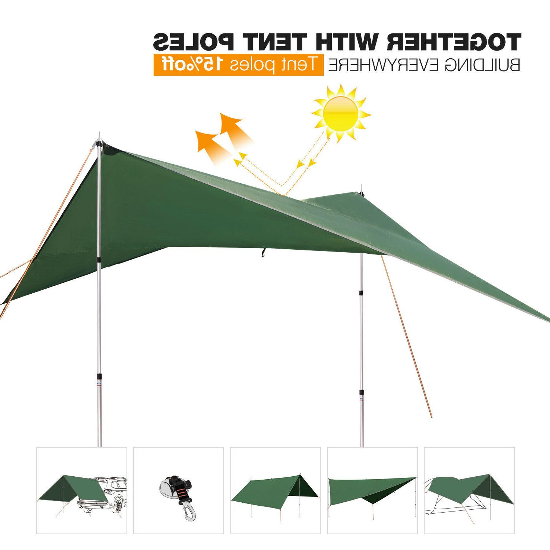 REDCAMP Waterproof Sunshade Hammock Cover Gear
