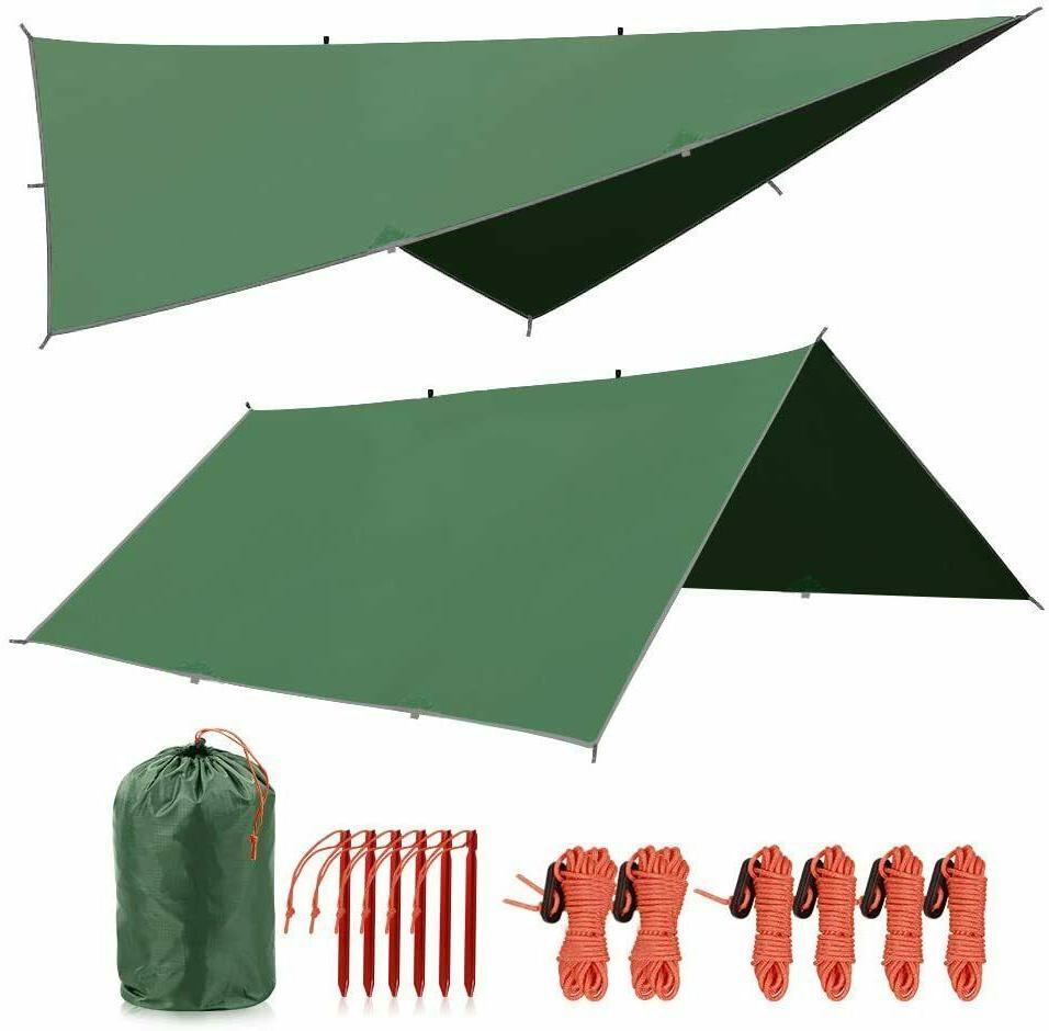 waterproof sunshade tarp shelter camping tent canopy