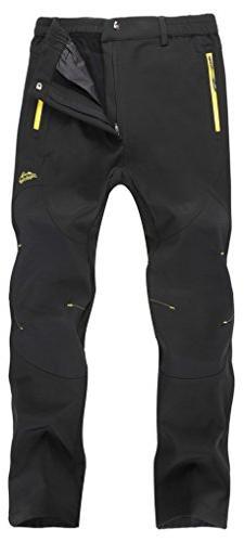 Singbring Men's Outdoor Windproof Hiking Pants Waterproof Sk