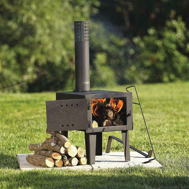 Wood Burning Stove Fireplace Fire Burner Outdoor Heater