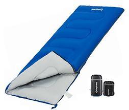 KingCamp L/XL/XXL Oversize Extreme Wide Envelope Adult Sleep