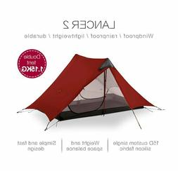 LanShan 2 3F UL GEAR 2 Person 1 Person Outdoor Ultralight Ca