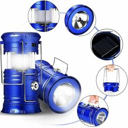 Lantern Flashlights Collapsible Solar Tent Light Gear Equipm