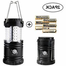 Biange Lantern Flashlights Portable Outdoor LED Camping 2 Pa