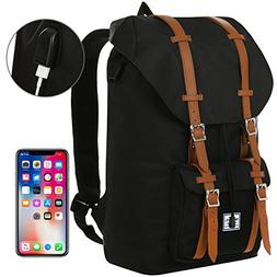 Benteng Laptop Backpack, Travel Backpack With USB Charging P