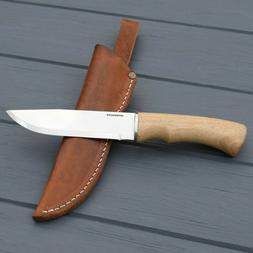 Large Outdoor Fixed Blade Knives with Leather Sheath Camp Ge