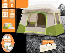 Large Tent 11 Person Instant Cabin Extra Private Room Divide