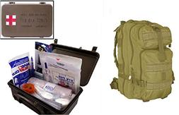 Ultimate Arms Gear Level 3 Assault MOLLE Tan Backpack Kit +