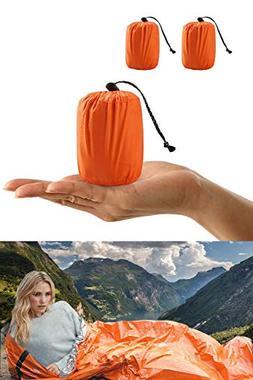 ACVCY Life Bivy Emergency Sleeping Bag Thermal Bivy - Use as