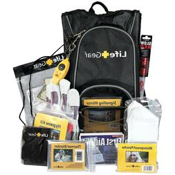 """Life Gear """"Day Pack"""" Emergency Survival Kit with Emergency G"""
