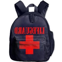 Lifeguard Gear Logo Kids 3D Printed Schoolbags Portable Book