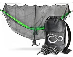 Extreme Protection Lightweight Hammock Mosquito Bug Net– 1