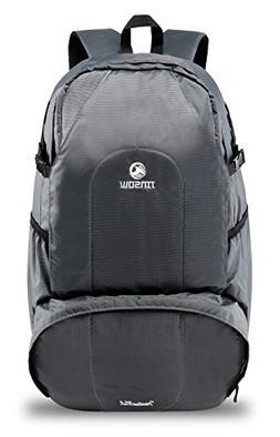 JINSOW 35L Lightweight Hiking Backpack Daypack, Waterproof C