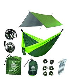 Extra Large Lightweight Ripstop Camping Hammock and Waterpro