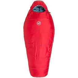 Big Agnes Little Red 15 Kids' Synthetic Mummy Sleeping Bag,