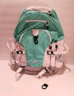 High Sierra Loop Backpack, Aquamarine/White/Ash New