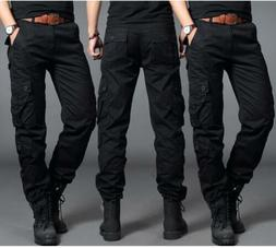 Mens Cargo Overall Camping Combat Train Casual Outdoor Pants