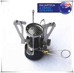 MICRO GAS JET STOVE BURNER Propane Cooking Hiking Picnic Cam