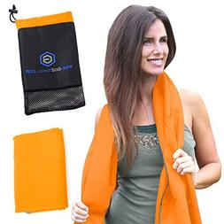Microfiber Quick Dry Travel Towel Best Lightweight & Sports