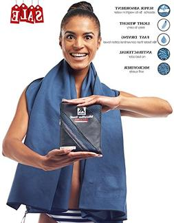 Zergano Microfiber Towel by Sports and Travel, Quick Drying