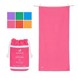 Dock & Bay Microfibre Towel - Travel & Outdoors  - Ultra Abs