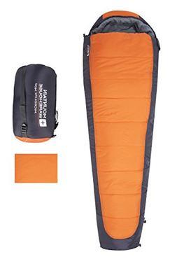 Mountain Warehouse Microlite 1400 Mummy Sleeping Bag - Campi