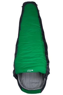 Mountain Warehouse Microlite 500 Sleeping Bag Green Left Han