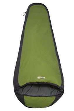 Mountain Warehouse Microlite 950 Sleeping Bag Lime Left Hand