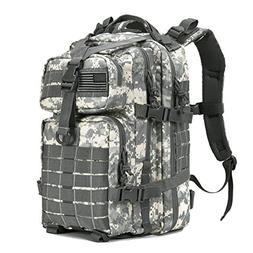 Military Tactical Camping Bag Assault Pack Backpack Army Mol