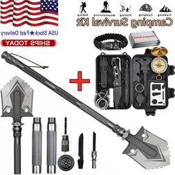 Military Folding Shovel Survival Gear Kit Outdoor Tactical C