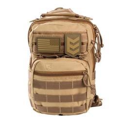 3V Gear Military Molle Tactical Shoulder Sling Pack Bag Back